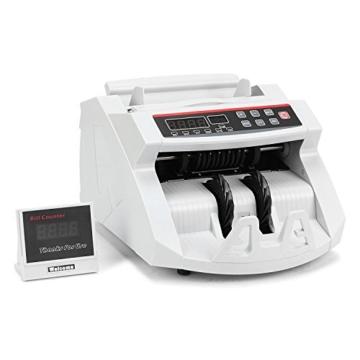 BuoQua Geldzählmaschine mit Echtheitprüfung