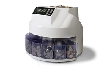 Safescan 1250 - Automatischer Münzzähler und Sortierer für CHF - 1