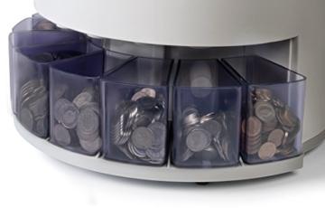 Safescan 1250 - Automatischer Münzzähler und Sortierer für CHF - 2