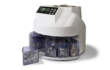 Safescan 1250 - Automatischer Münzzähler und Sortierer für CHF - 5