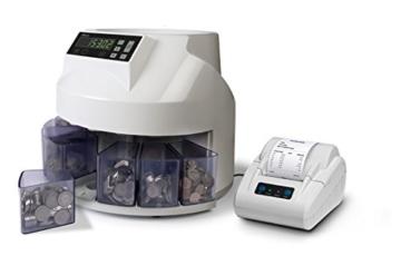 Safescan 1250 - Automatischer Münzzähler und Sortierer für CHF - 6