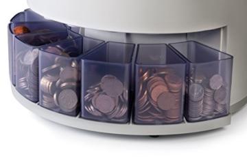Safescan 1250–Münzzähler und Sortierer für britisches Pfund - 2