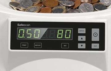 Safescan 1250–Münzzähler und Sortierer für britisches Pfund - 3