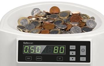 Safescan 1250–Münzzähler und Sortierer für britisches Pfund - 4