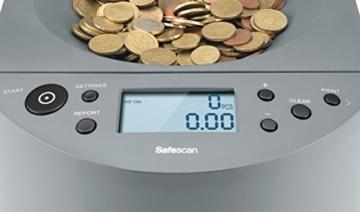 Safescan 1450 - münzzähler und sortierer für Euro Münzen - 2