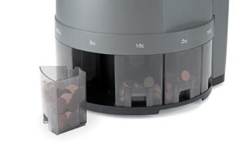 Safescan 1450 - münzzähler und sortierer für Euro Münzen - 4