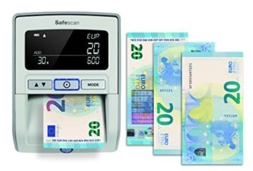 Safescan 165-S Automatisches Falschgeld Prüfgerät, schwarz - 3