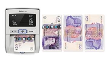 Safescan 165-S Automatisches Falschgeld Prüfgerät, schwarz - 4