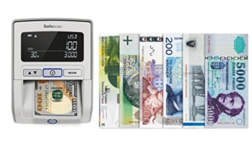Safescan 165-S Automatisches Falschgeld Prüfgerät, schwarz - 5