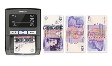 Safescan 165-S Automatisches Falschgeld Prüfgerät, schwarz - 7