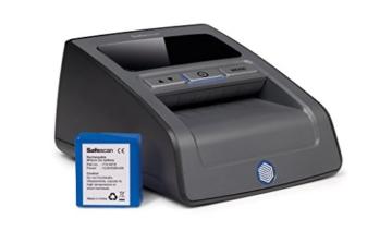 Safescan 165-S Automatisches Falschgeld Prüfgerät, schwarz - 8