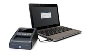 Safescan 165-S Automatisches Falschgeld Prüfgerät, schwarz - 9