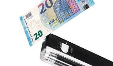 Safescan 40H - Falschgeld Prüfgerät Tragbarer UV-Detektor - 5